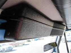 Wiper Cover for TBP Soft Top - Black w/Mounting Brackets