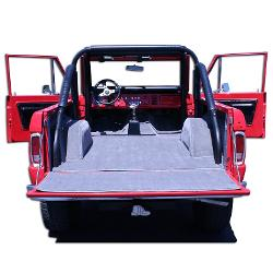 PREMIUM Gray Carpet Kit, 77 Bronco