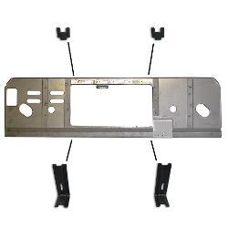Radiator Core Support w/Hangers, 289/302/351W V8