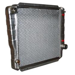 High Efficency 3-core Aluminum Radiator - V8, Auto/Manual