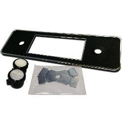 DIN Repair Kit for Retrosound Stereo (#0996B) - Black w/Chrome Trim