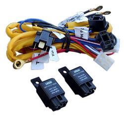 77 silverado headlight wiring harness heavy duty headlight conversion harness w/relays, each ...