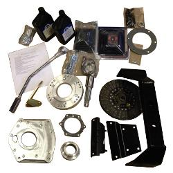 NV3550 5-speed Transmission Adapter/Cross Member Install Kit, SBF to Dana 20, 66-77 Ford Bronco, New