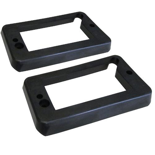 Turn Signal Bucket to Grill Pads - Black, 69-77 Ford Bronco (pair)