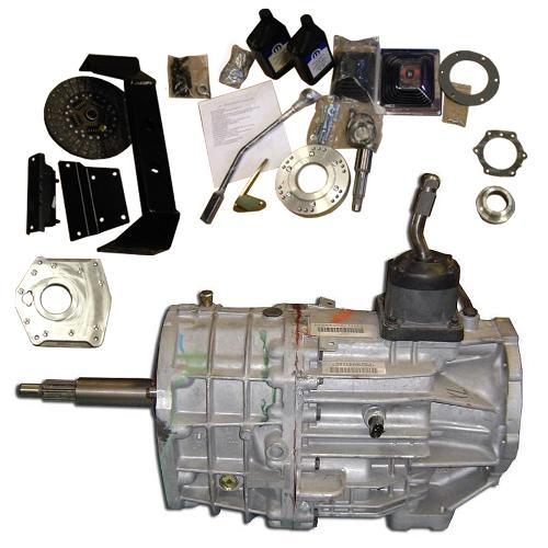 Rebuilt NV3550 5-spd Full Conversion Kit w/ Transmission