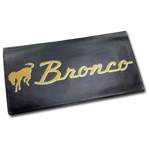 """Bronco"" Script Owner's Manual Wallet"
