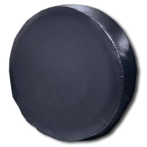 Vinyl Spare Tire Cover - Plain Black (Select Size)
