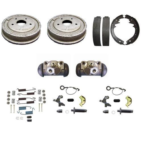 "Rear Drum Brake Rebuild Kit, 11"" Drum Big Bearing, 66-75 Bronco"