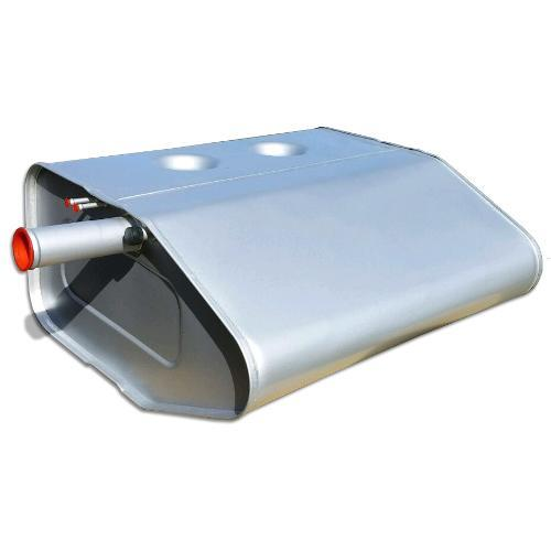 Rear Main Fuel Tank - Stock Steel, OEM Style, 66-76 Ford Bronco