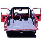 PREMIUM Gray Carpet Kit, 66-76 Ford Bronco