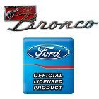 """Bronco Sport"" Fender Emblem w/Nuts, each"