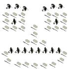 Body Chrome Moulding Clip Kit - FULL SET