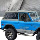 GRAY Vinyl Denim Soft Top w/Tinted Windows *FREE GROUND SHIPPING