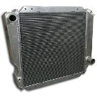 Radiator - V8, Aluminum, Manual, Super HD, 66-77 Early Ford Bronco