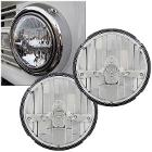 LED Headlights w/Chrome Finish, PAIR