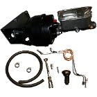 Power Brake Kit - No Modify Conversion w/Drum Brake Lines