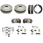 "Rear Drum Brake Rebuild Kit, 11"" Drum Big Bearing, 76-77 Bronco"