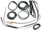 15pc Complete Body Weatherstrip Kit w/Hard Top Reseal - 66-68 Ford Bronco