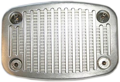 Billet Aluminum Brake Pedal Pad - Medium, Brake/Clutch (each)