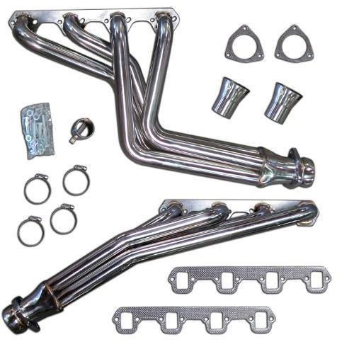 Stainless Steel V8 Headers - fits 289, 302 & 351W (BACKORDER, Due Mid-August)