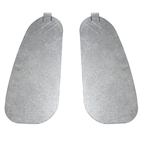 Tailgate Post Access Covers, pair