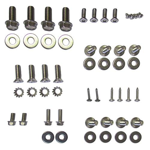 Tailgate Bolt Kit, Stainless Steel