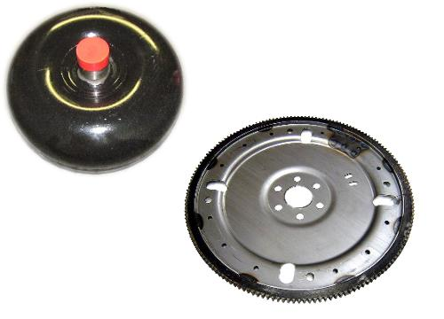 C-4 Torque Converter and 28 Oz Flex Plate Kit, 73-77 Ford Bronco