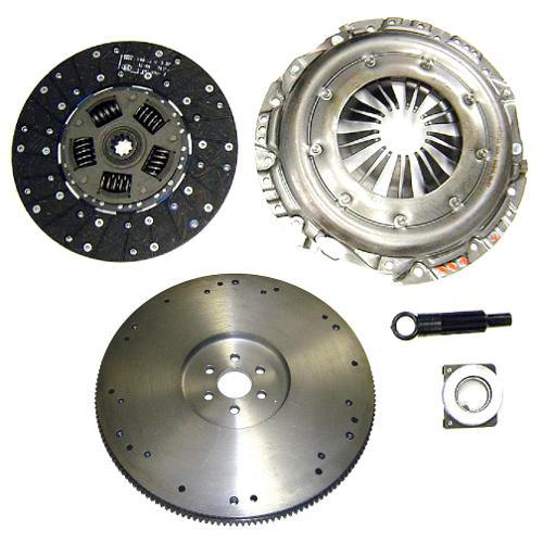 "11"" Clutch & Flywheel Kit - 66-77 Broncos w/Late 302 V8, 50 oz"